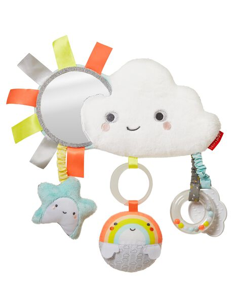 Display product reviews for Silver Lining Cloud Stroller Bar Toy-Cloud