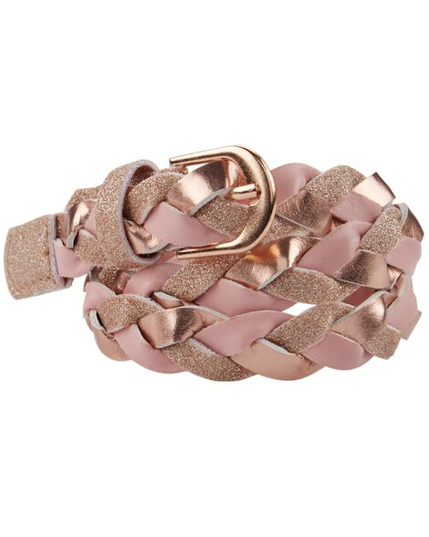 Display product reviews for Braided Metallic Belt