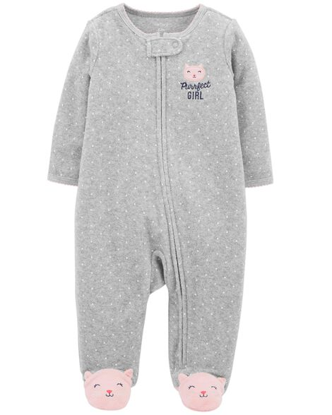 Display product reviews for Kitty Zip-Up Terry Sleep & Play