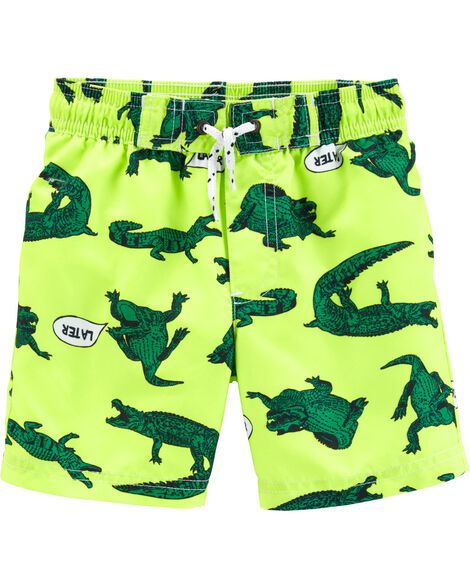 Display product reviews for Carter's Alligator Swim Trunks