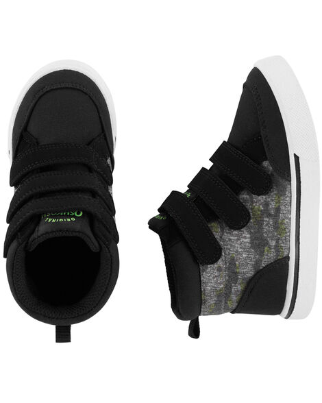 Display product reviews for OshKosh Camo High-Top Sneakers