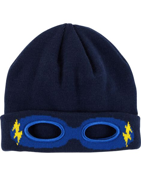 Display product reviews for Super Hero Knit Hat