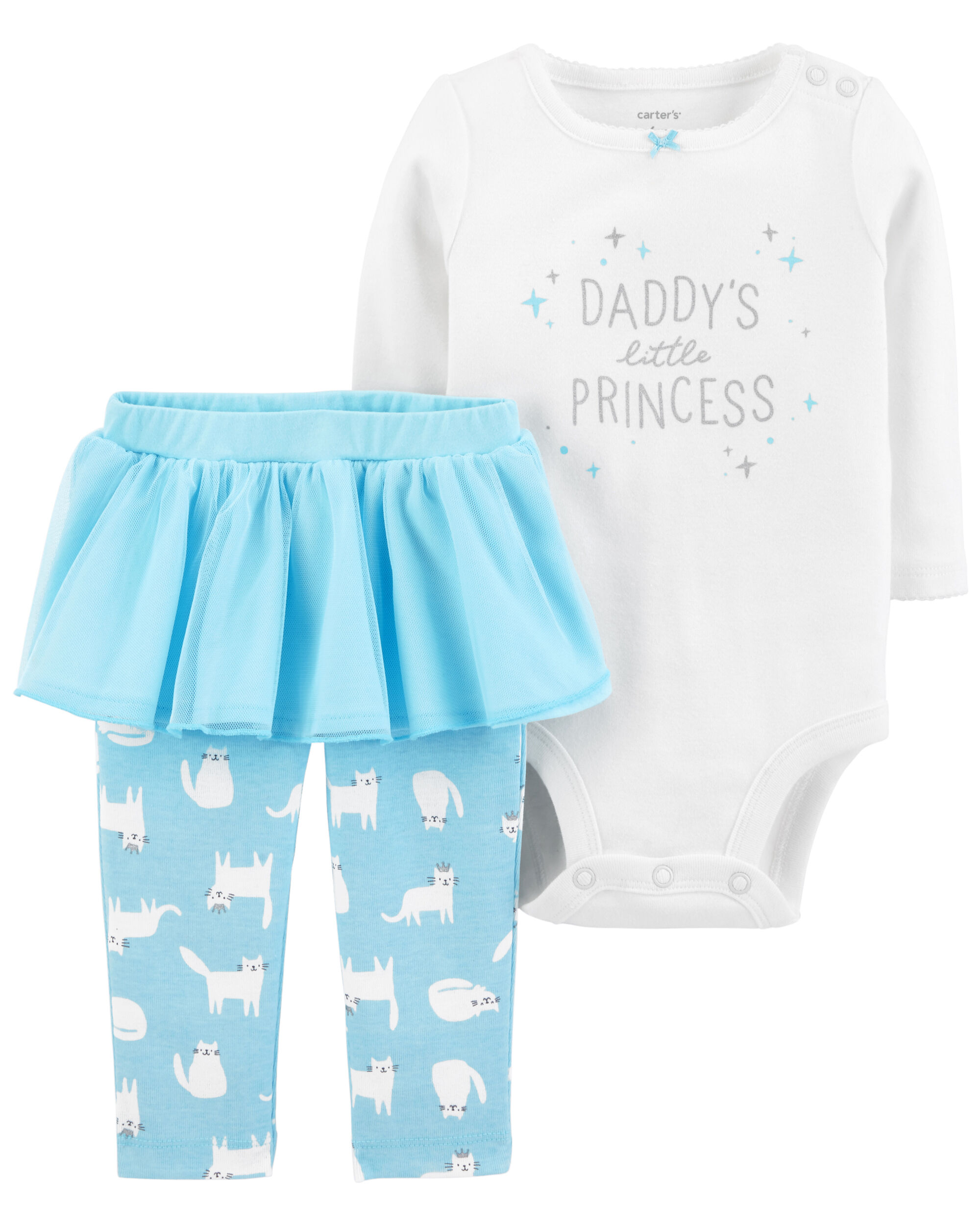 36533b4b5 2-Piece Bodysuit & Tutu Pant Set | Carter's OshKosh Canada