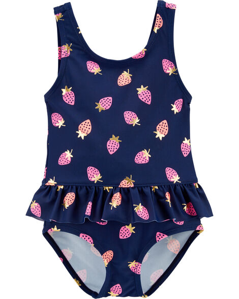 1907a3bc5 Display product reviews for OshKosh Strawberry One Piece Swimsuit