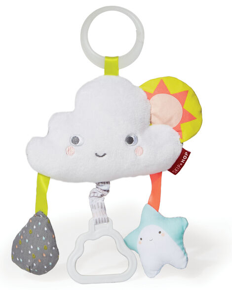 Display product reviews for Silver Lining Cloud Jitter Stroller Baby Toy