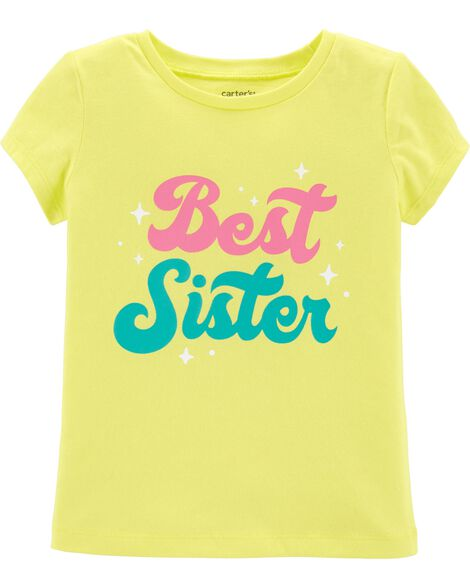 Display product reviews for Best Sister Jersey Tee