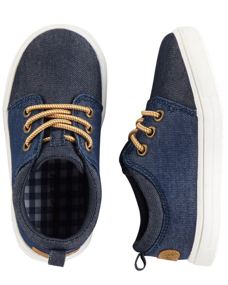 Display product reviews for Carter's Denim Casual Sneakers