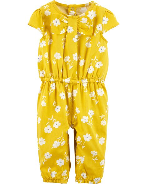 Display product reviews for Floral Jumpsuit