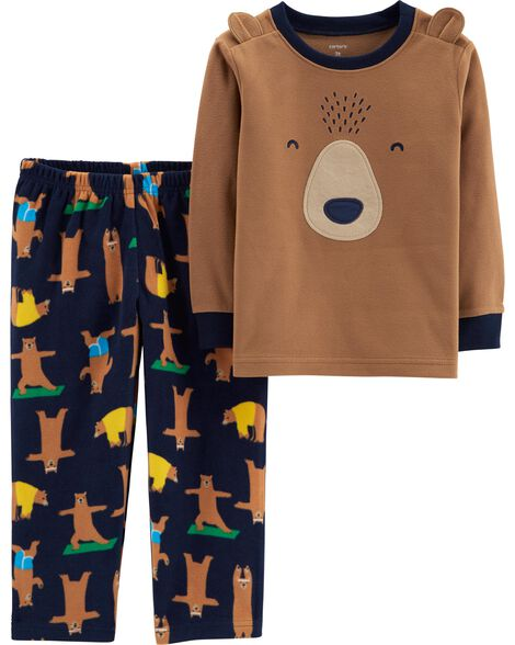 Display product reviews for 2-Piece Bear Fleece PJs