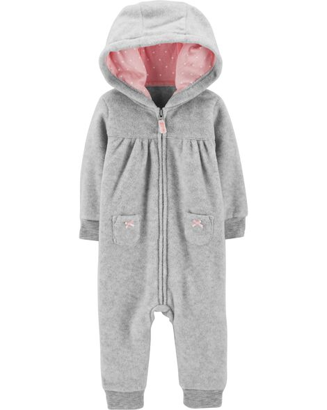 Display product reviews for Koala Hooded Fleece Jumpsuit