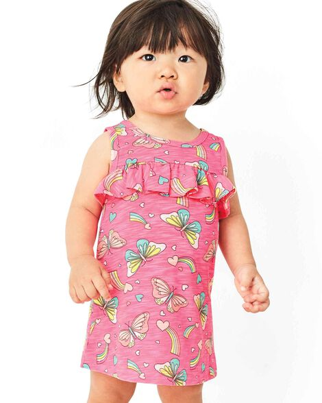 8b51f1c1d5ee0 Display product reviews for Neon Ruffle Butterfly Dress
