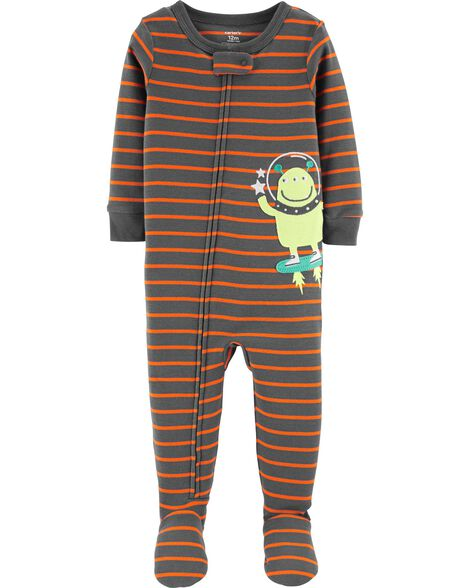 294f2ac70 Display product reviews for 1-Piece Alien Footed Snug Fit Cotton PJs