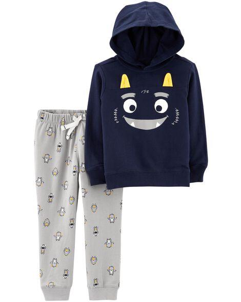 Display product reviews for 2-Piece Monster Hoodie & Jogger Set