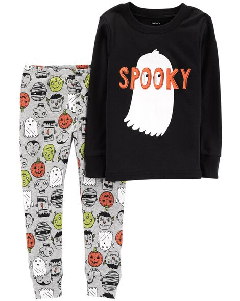 Display product reviews for 2-Piece Halloween Snug Fit Cotton PJs