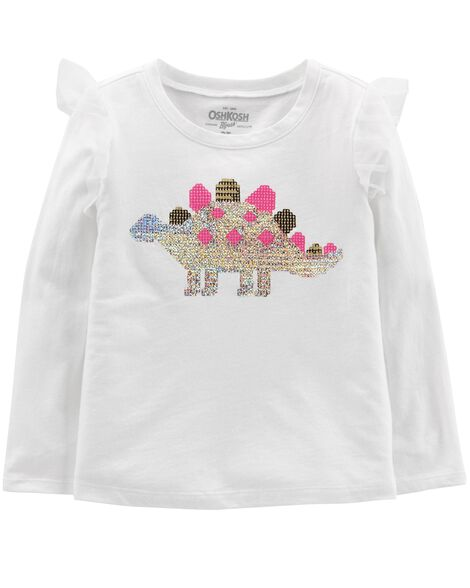 Display product reviews for Ruffle Dino Top