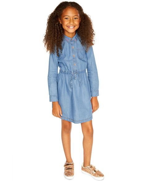 Display product reviews for Embroidered Jean Dress