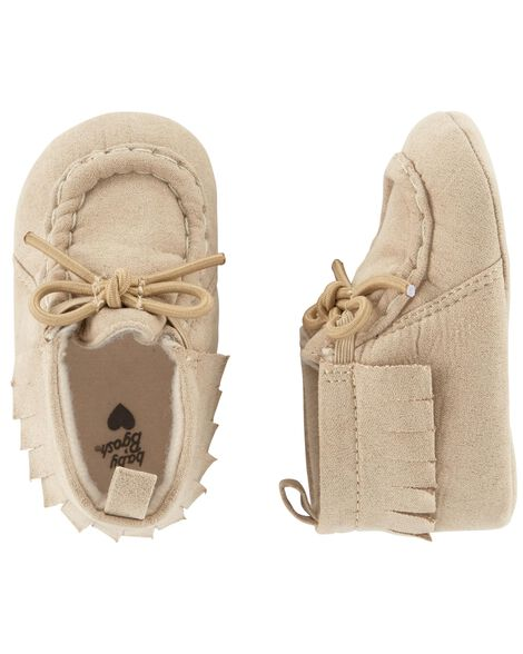 Display product reviews for OshKosh Moccasin Crib Shoes