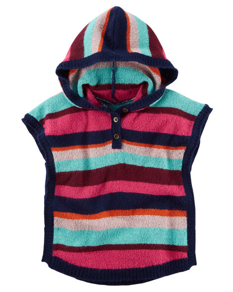 Display product reviews for Striped Poncho