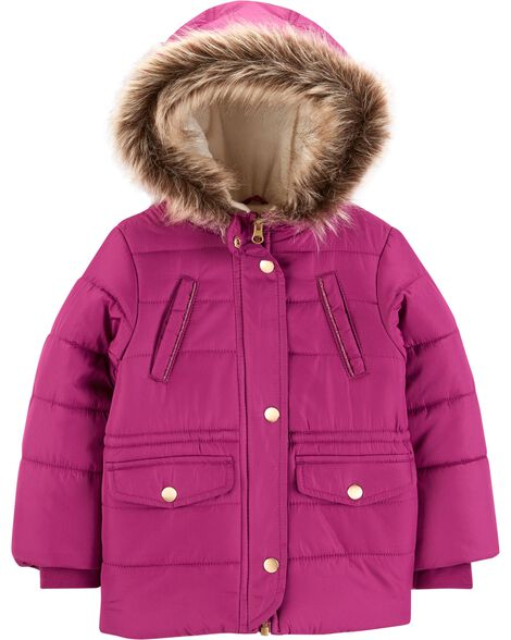Display product reviews for Fleece-Lined Parka