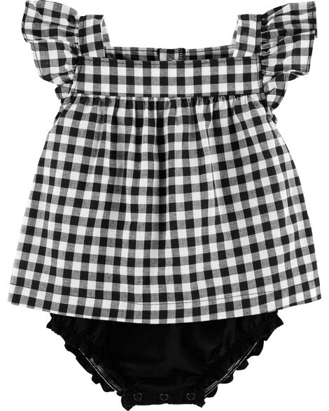 0cbd810127 Display product reviews for Gingham Sunsuit