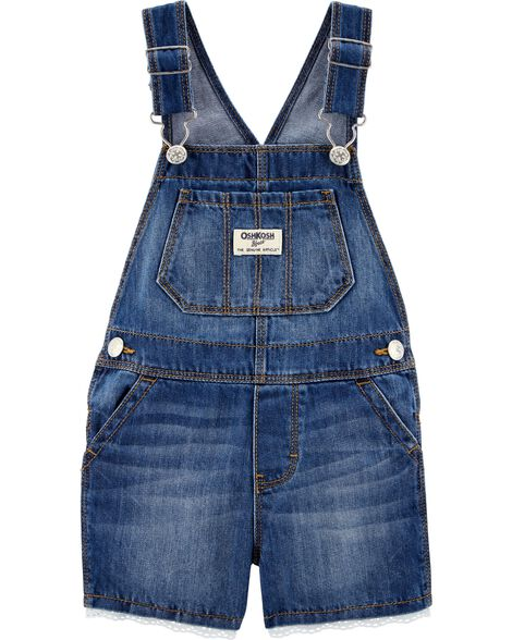 0cddbbcca Display product reviews for Eyelet Trim Denim Shortalls
