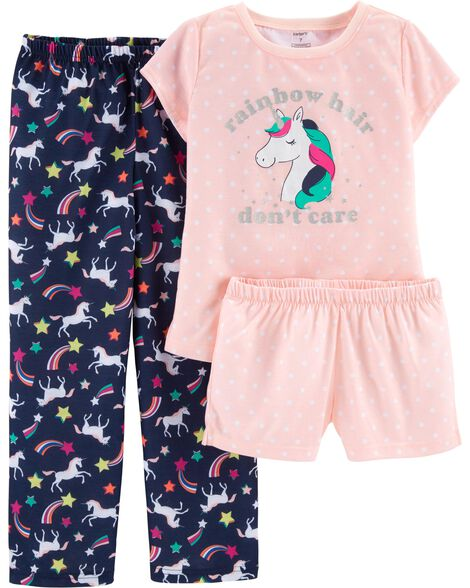 772e3d4ae47ccf Display product reviews for 3-Piece Unicorn Poly PJs