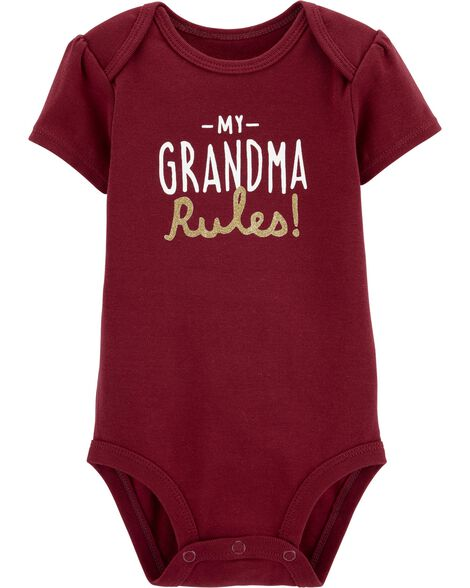 2446da61cd7330 Display product reviews for Grandma Rules Collectible Bodysuit