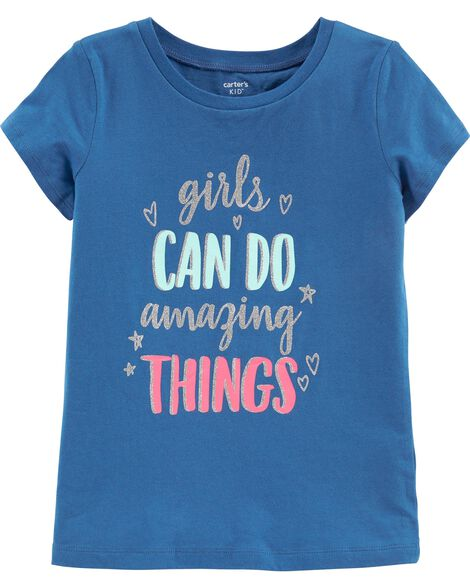 5e2014cc1c Display product reviews for Glitter Girls Can Do Amazing Things Tee