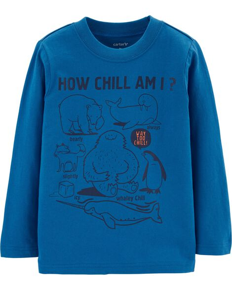 Display product reviews for How Chill Am I Jersey Tee