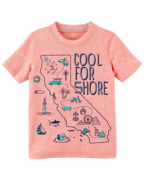 Display product reviews for Neon Cool For Shore Jersey Tee