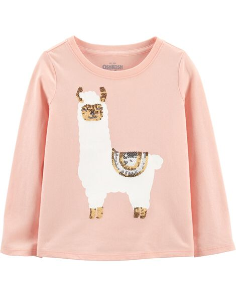 Display product reviews for Llama Sequin Top