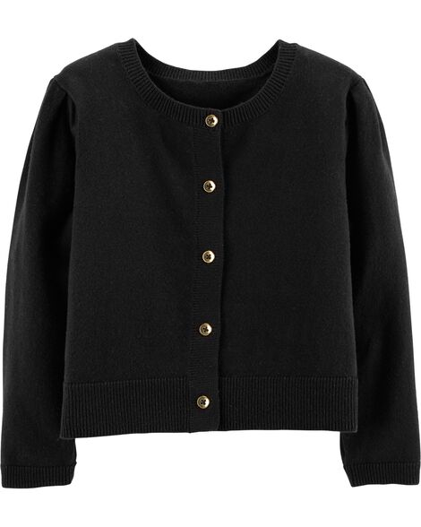 Display product reviews for Puff Sleeve Cardigan