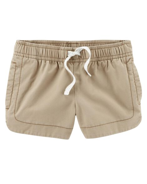 Display product reviews for Easy Pull-On Twill Shorts