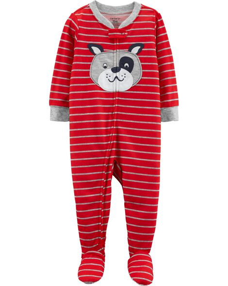 Display product reviews for 1-Piece Dog Footed Poly PJs
