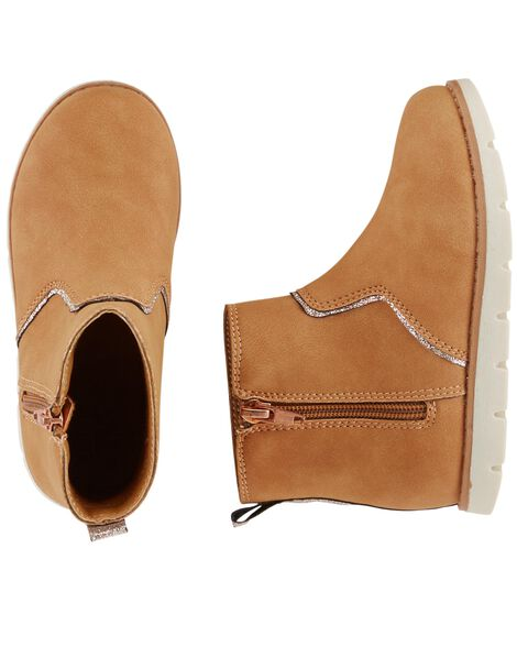 Display product reviews for OshKosh Zip Booties