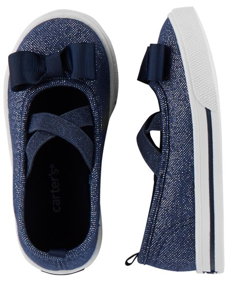 Display product reviews for Carter's Glitter Casual Sneakers