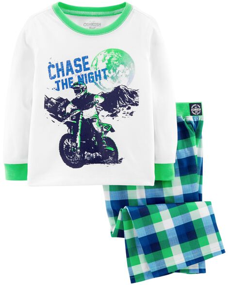 Display product reviews for 2-Piece Motorcyle PJs