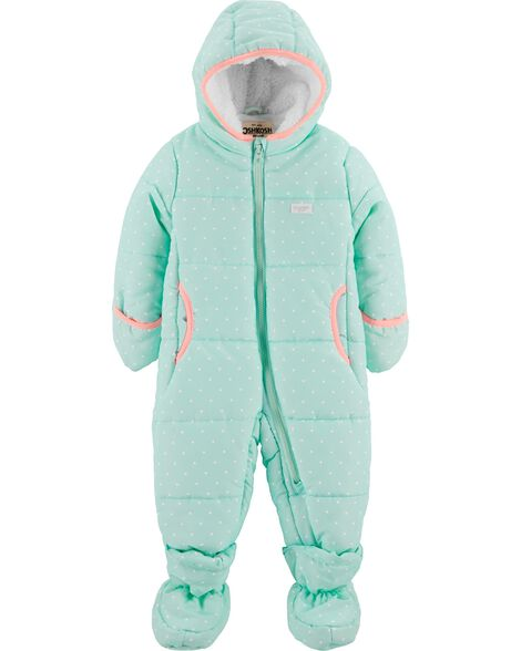 Display product reviews for Silver Dots Snowsuit