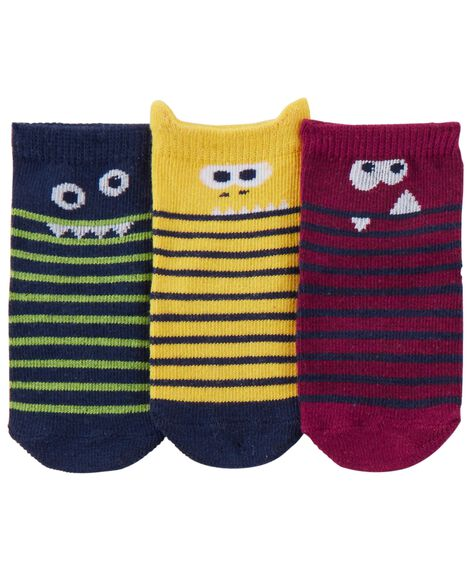 Display product reviews for 3-Pack Monster Crew Socks