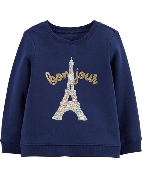 Display product reviews for Sequin Bonjour Pullover
