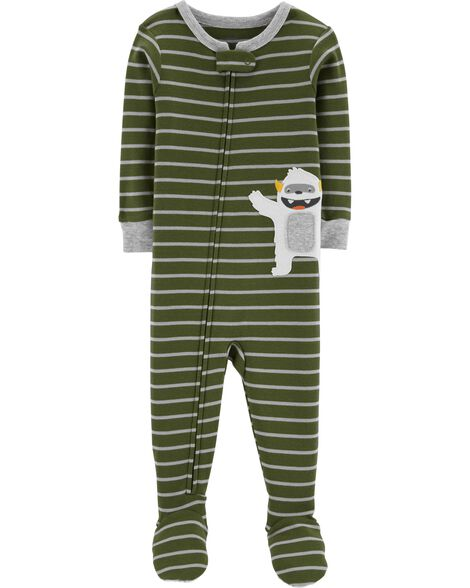 Display product reviews for 1-Piece Monster Snug Fit Cotton PJs