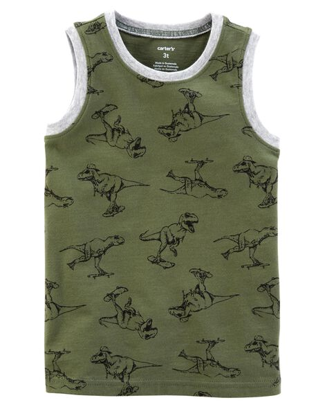 Display product reviews for Dinosaur Jersey Tank