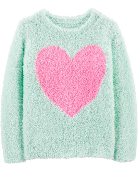 Display product reviews for Fuzzy Heart Sweater
