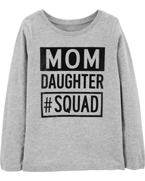 Display product reviews for Mom Daughter Squad Jersey Tee