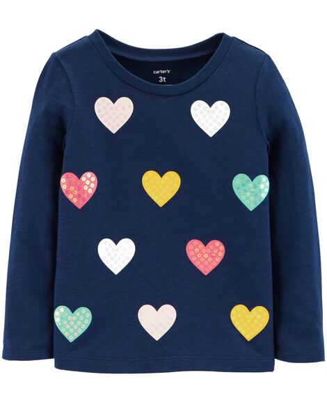 Display product reviews for Sequin Heart Slub Top