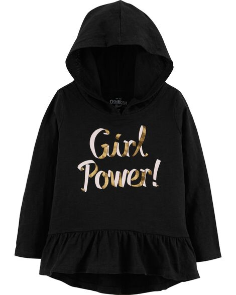 Display product reviews for Girl Power Hooded Tunic