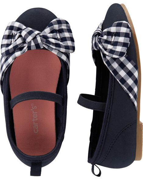 75b693922 Display product reviews for Carter's Gingham Ballet Flats