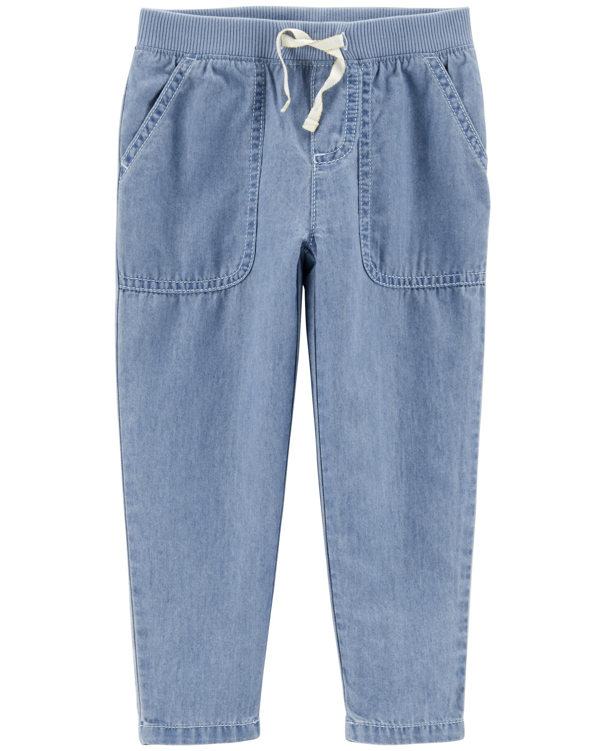093559acc Pull-On Relaxed Fit Denim Pants | Carters.com