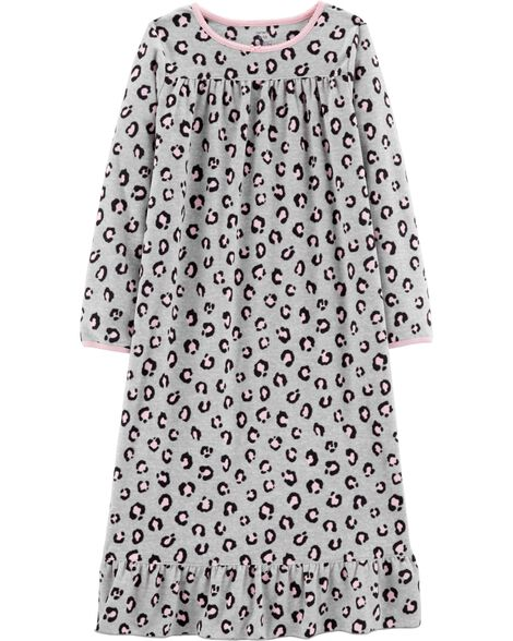 Display product reviews for Cheetah Fleece Nightgown