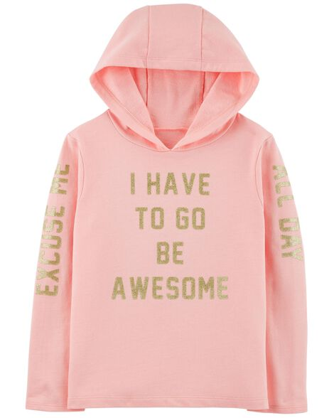 Display product reviews for Be Awesome Pullover Hoodie